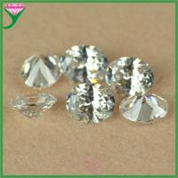 Best Synthetic Diamond 9*11mm White Oval Cubic Zirconia wholesale