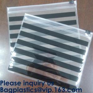 China Frosted PVC Slider Zipper Bag Plastic Bag/ Recyclable Waterproof Transparent PVC Towel Bag,Slider Zipper Pvc Pouch Ziplo on sale