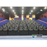 Best Exciting Simulating Luxury Cabin Box 5D Cinema System With Fiber Glass Material wholesale