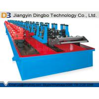 Best Automatic Shelf Rack Roll Forming Machine With Gearbox And Cr12 Roller Material wholesale
