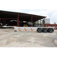 Best 3 axles container skeleton semi trailers/skeleton trailer wholesale