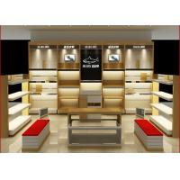 Best Customized Size Shoe Store Display Shelves For Boutique Brand Shoes Shop wholesale