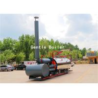 Best Durable Gas Diesel Oil Fired Steam Boiler Q245R Steel Plate Material wholesale