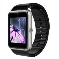 Best High Quality GT08 350mAh Android Smart Watch Phone black 1.54inch  MTK6261 Bluetooth 3.0 smart call phone with CE wholesale