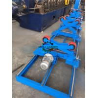 Best PU Coated Pipe Turning Rolls For Automatic Feeding And Welding wholesale