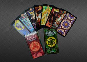Best EN71 CMYK / Pantone Printing Tarot And Oracle Cards wholesale