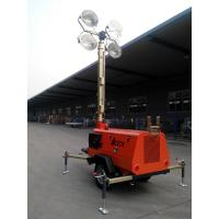 Best 9m 4*1000W Mobile Light Tower GTLT09TN4000 with Kubota Engine Manual Operation wholesale