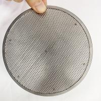 High Temperature Resistant Stainless Steel Extruder Screen Mesh For Plastic Recycling