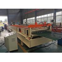 Best CE ISO SGS Shutter Roll Forming Machine , Shutter Door Machine With Cr12 Cutter wholesale