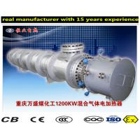 China Flange And Circulation Heater Boiler , Horizontal Explosion Proof Heater on sale