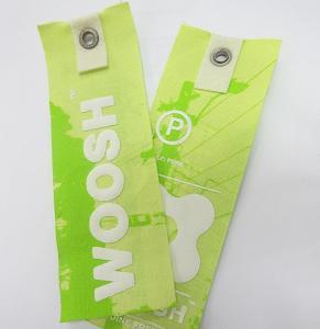 Best 3D lenticular print tag 75lpi, 0.45mm  Flip effect lenticular hang tag for garment printed by OK3D wholesale
