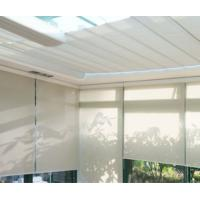 Best Anti - sunshade UV proof double layer roller blinds with curtain tubular motor wholesale