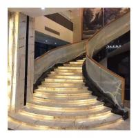 Best Customized Size Marble Stone Slab Tile For Stairs Tread Step And Risers wholesale
