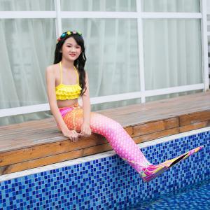 Best Multi - Founctional Mermaid Tails For Swimming / Beach Mermaid Swimwear For Kids wholesale