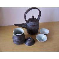 Best Fine China Tea Pot Meatl Effect Glazing wholesale