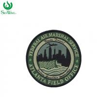 China Eco - Friendly Personalized Sew On Embroidered Patches Customized Color on sale