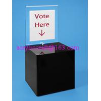 Best Counter top acrylic ballot box / plexiglass suggestion box prices wholesale