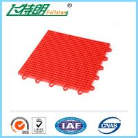 Cheap Portable basketball court Interlocking Rubber Floor Tiles 10 Years Using Life for sale