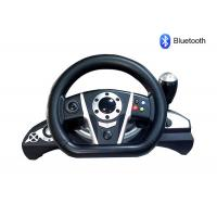 Buy cheap Bluetooth PC / PS3 Racing Video Game Steering Wheel With Rubber Hand Grip product