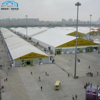 China 40x50m Luxury Outdoor Exhibition Tents with Roof Top Solid Walls on sale