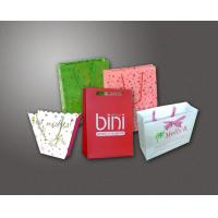China Fancy Paper Gift Bags Wholesale on sale
