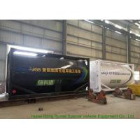 Best Heating Insulated 20FT Tank Container Stanless Steel For PolyetherPolyol / PMPO wholesale