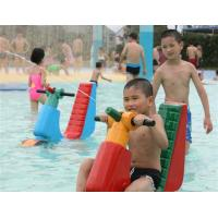 Best Safety Commercial Aqua Playground Equipment For Children , Water Gun For Kids Play wholesale