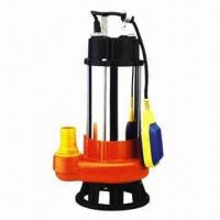 China 0.6/1HP Submersible Sewage Pump with Float Switch and Thermal Protector Design on sale