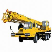 Best Truck Crane, 16T Lifting Capacity, Fully Extended Boom + Jib 38.5m, Equipped with D6114ZLQ5B Engine wholesale