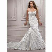 Best Spaghetti Strap Famous Design Wedding Dress wholesale