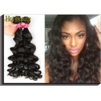 Buy cheap No Lices Brazilian Remy Human Hair Weave Big Curl Thick From Root To The End product