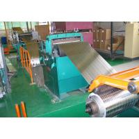 Best Galvanized Steel Coil Slitting Line , 2 X 850 Hydraulic Sheet Metal Slitter Machine wholesale