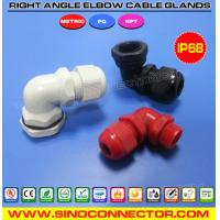 Best Right Angle IP68 Nylon (Polyamide or Plastic) Cable Glands with PG, Metric & NPT threads wholesale
