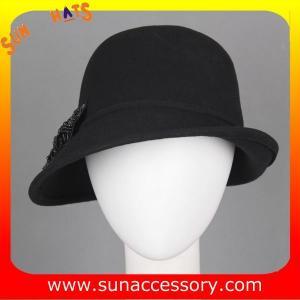 Best 4890836 Sun Accessory customized  winner  fashion 100% wool felt clothe  hats,women hats and caps wholesaling wholesale