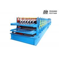 China Reliable Steel Deck Forming Machine / Galvanized Tile Sheet Forming Machine on sale