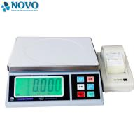 China table top Digital Weighing Scale with printer customized size on sale