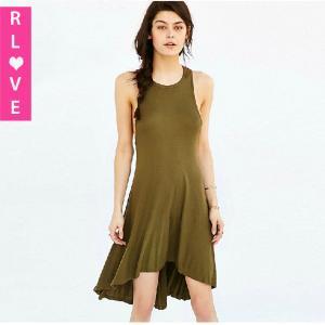 Best European style small dovetail sexy strapless dress slim vest irregular hem dresses wholesale
