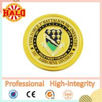 Buy cheap Hot selling Gold plated good quality customized souvenir metal coin from wholesalers