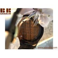 China wholesale wood watch with low moq in stock new wood grain face simple wooden watch on sale