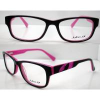 Best Pink Hand Made Acetate Eyeglasses Frames, Fashion Acetate Women Optical Frame wholesale