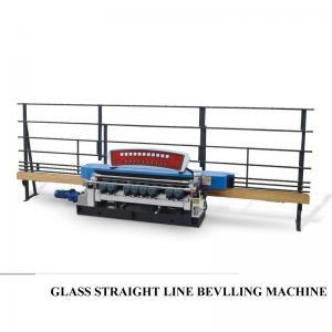 Best Automatic Straight Line Glass Beveller Edge Cutting Grinding Polish Machine,Glass Straight Line Beveling Machine wholesale