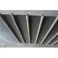 Best Cylindrical 304/316 flat wedge wire slot screen for screening and filtration wholesale