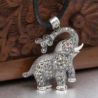 Best Elephant Silver Pendant, Customized Specifications Welcomed wholesale
