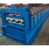 Best 15KW Floor Deck Roll Forming Machine For Metal Structural Building Construction wholesale