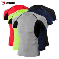 China Quick Dry Custom Rash Guard , Surf Rash Guard Plus Size Compression T Shirt on sale