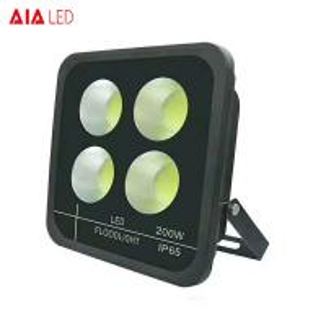 Best Exterior IP65 black 200W LED Flood lighting led spotlight for yard decoration wholesale