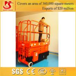 Best 4 wheels mobile scissor lift with Factory price 3.5m-12m wholesale