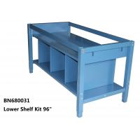 Buy cheap Lower Shelf Kit For Divider The Space Under The Industrial Work Table 96 Inch from wholesalers