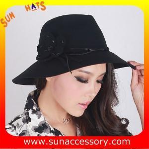 Best 9111148 Sun Accessory customized  winner  fashion 100% wool felt  hats, women hats and caps wholesaling wholesale