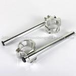 Best CNC Machining Motorcycle Clip Ons Handlebars 54mm Buell Firebolt 1125 wholesale